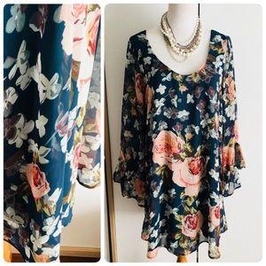 Show Me Your Mumu Medium Boomerang Floral Dress